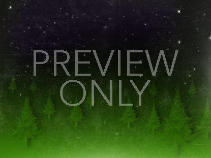 CHRISTMAS FOREST STARS GREEN PURPLE