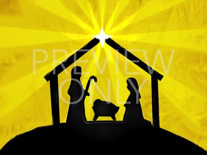 CHRISTMAS NATIVITY SHINE