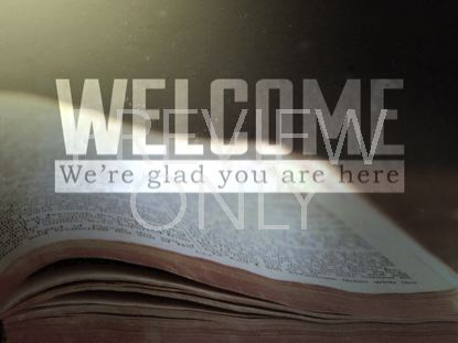 OPEN BIBLE WELCOME STILL