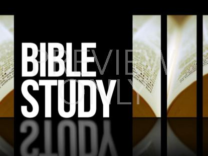 Announcements 01 Bible Study Still | twelve:thirty media ...