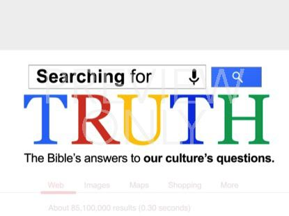 SEARCHING FOR TRUTH TITLE STILL