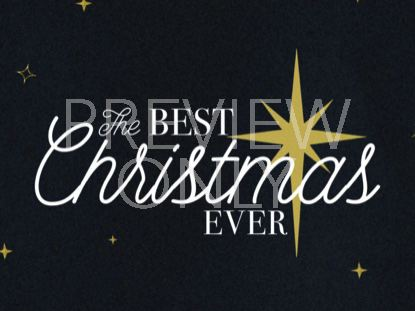 THE BEST CHRISTMAS EVER TITLE