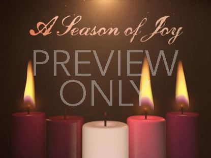 ADVENT CANDLES JOY