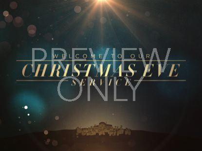 BETHLEHEM BOKEH CHRISTMAS EVE