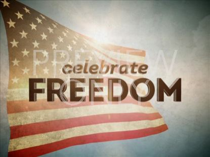 CELEBRATE FREEDOM TITLE STILL
