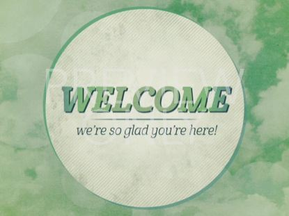 CLEAN GREEN WELCOME STILL
