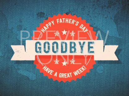 FATHER'S DAY DENIM CLOSING STILL
