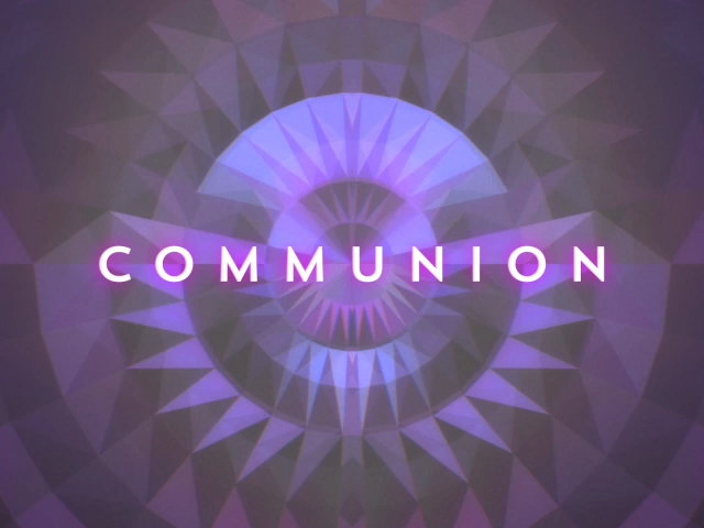 GEOMETRIC GLOW COMMUNION 01 STILL