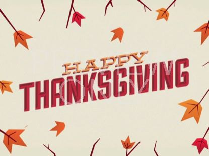 GIVE THANKS HAPPY THANKSGIVING