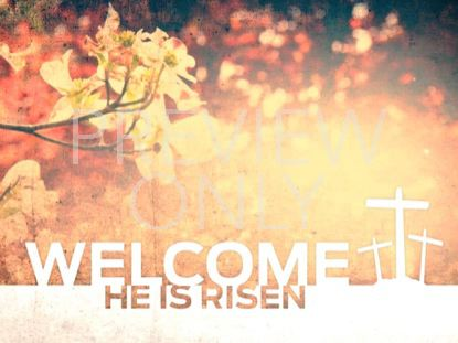 HE IS RISEN WELCOME STILL