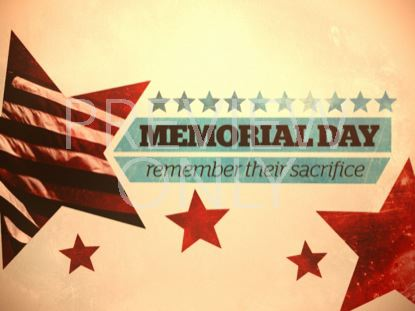 MEMORIAL DAY TITLE