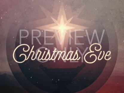 MODERN RETRO CHRISTMAS EVE TITLE 02