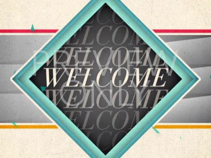 NEW GEOMETRIC WELCOME STILL