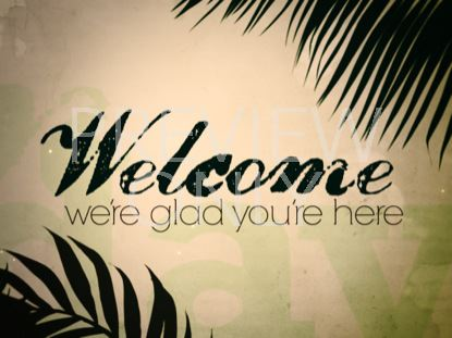 PALM WELCOME STILL
