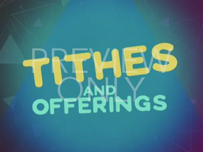 POLYGON PARTY TITHES AND OFFERINGS
