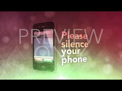 SILENCE YOUR PHONE VINTAGE STILL