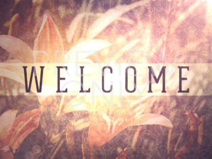 SPRING GLOW WELCOME STILL
