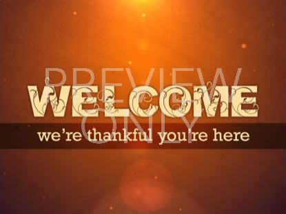 THANKFUL WELCOME 02