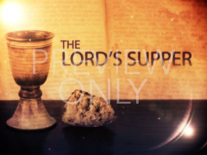 THE LORDS SUPPER TITLE