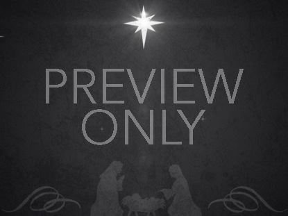 VINTAGE CHRISTMAS EVE MANGER 02 STILL