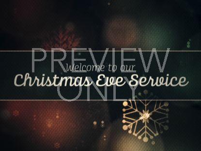 VINTAGE CHRISTMAS LIGHTS CHRISTMAS EVE