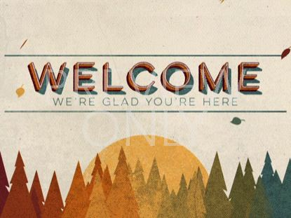 VINTAGE FALL WELCOME STILL