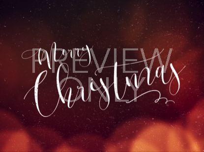 WARM CHRISTMAS GLOW MERRY CHRISTMAS 01