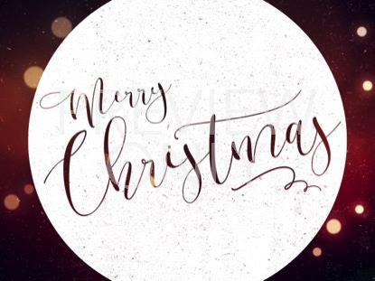 WARM CHRISTMAS GLOW MERRY CHRISTMAS 02