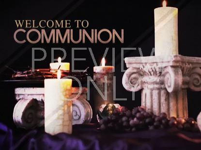 COMMUNION CANDLES STILL 6