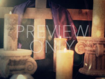 EASTER CANDLE STILL 6