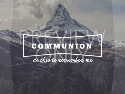SINGLE MOUNTAIN COMMUNION
