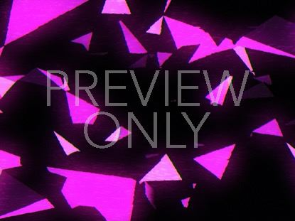 PINK SPACE TRIANGLES RETRO