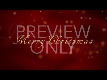 MERRY CHRISTMAS GLITTER