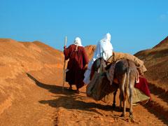 JOSEPH AND MARY - DESERT 1