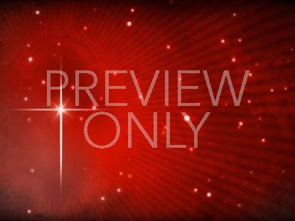 STAR OF BETHLEHEM ON FIERY RED STILL