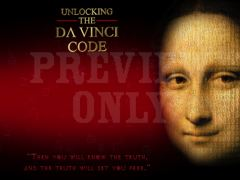 UNLOCKING DAVINCI TEXT SLIDE