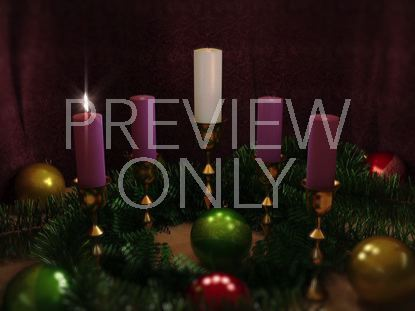 ADVENT CANDLES ONE