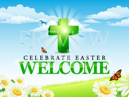 CELEBRATE EASTER WELCOME STILL