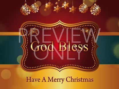 CHRISTMAS GOD BLESS STILL