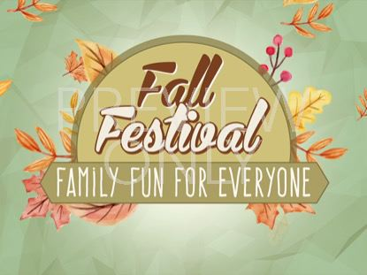 FALL FESTIVAL STILL VOL 3