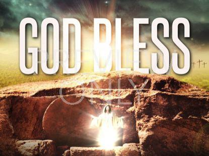 HE IS ALIVE GOD BLESS STILL