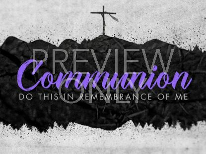 LENT COMMUNION STILL