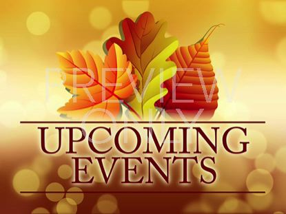 THANKSGIVING UPCOMING EVENTS STILL