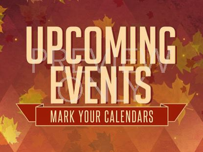THANKSGIVING UPCOMING EVENTS STILL VOL3