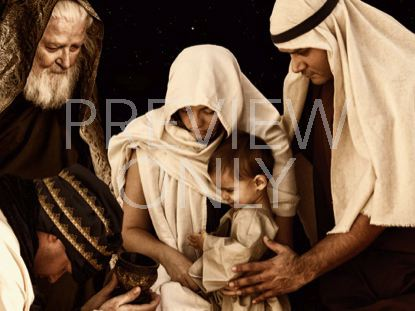 27 WISE MEN PRESENTING GIFTS