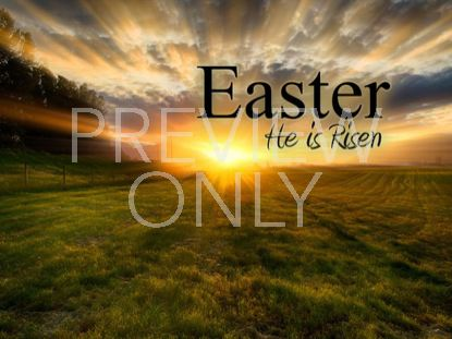 HE IS RISEN TITLE