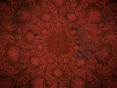 FLOURISH PATTERN RED
