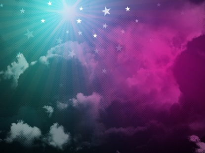 STAR CLOUDS PINK