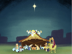 CARTOON NATIVITY