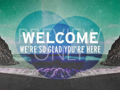 GEOMETRIC BEACH WELCOME